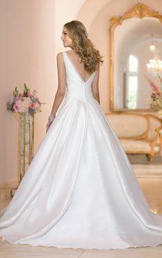 5987 A Line Organza Wedding Dresses by Stella York