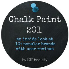 Chalk Paint brand reviews and user experience | DIY beautify