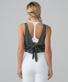 Fitness Clothes Women - Tie Back Yoga Tank Lululemon Running is not the same as riding a bike, as doing yoga is not the same as taking an aerobics class. There are many exercises that allow you to be in shape, but to obtain a greater benefit, or simply to