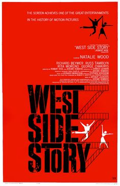 The one, the only...West Side Story (1961). #vintage #musicals #1960s #movies