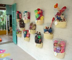 Baskets of Toys
