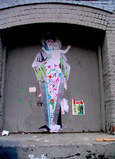 Street Art, NY - ELLE!