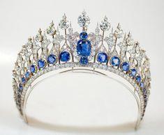 "andypingo: "" Mellerio Sapphire Tiara """