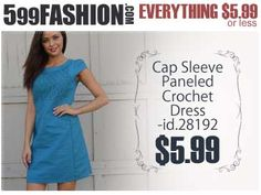 """599fashion.com - Everything $5.99 or Less. Check out this weeks """"5 Favorite Picks"""". http://www.599fashion.com/Picks-of-the-Week_c_511.html"""