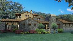 The Sher'a House Plan 1888 - 4 Bedrooms and 3.5 Baths | The House Designers
