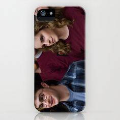 Harry Potter & Hermione Granger iPhone & iPod Case by Zoe Ash - $35.00