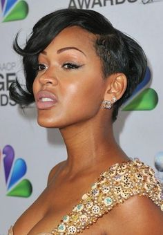 Meagan Good Stylish Short haircut for this year or next.