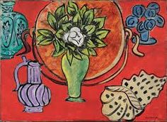 Henri Matisse (French, 1869–1954) Still Life with Magnolia, 1941. Oil on canvas; 29 1/8 x 39 3/4 in. (74 x 101 cm) Centre Pompidou,