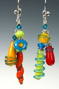 More Sharon Peters glass work. LOVE these.