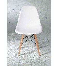 Eames Style White DSW Eiffel Chair