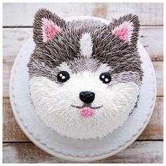 I woof you 💕💕 puppy cake Creative Cake Decorating, Cake Decorating Techniques, Creative Cakes, Decorating Tips, Panda Cakes, Dog Cakes, Cupcake Cakes, Puppy Birthday Cakes, Dog Birthday