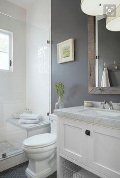 Love this classic vanity style.
