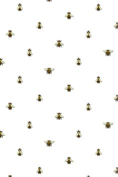 wild honey bee spot wallpaper - 10M roll
