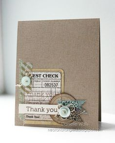 Thank You by Neat and Tangled, via Flickr