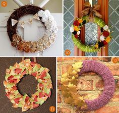20 Festive Wreaths for Fall