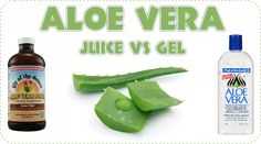 A post gives a comprehensive over view of aloe vera juice and aloe vera gel looking at which is better and what benefits they both have for our hair.