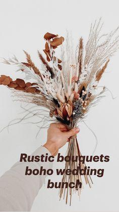 Rustic Bouquet, Boho Wedding Bouquet, Boho Wedding Flowers, Boho Wedding Decorations, Fall Wedding Colors, Wedding Centerpieces, Floral Wedding, Boho Flowers, Sage Wedding