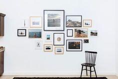 Cómo colgar una galería de pared de la manera correcta