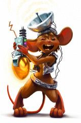Egg Scrambler Mouse (^Sandra^) Tags: game art mouse play arte raton mice juego mousehunt