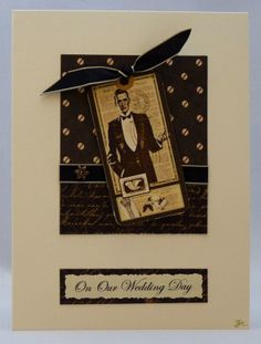 Handmade Card - Our Wedding Day No. 2 £3.00