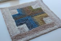 Mitered Crosses Blanket