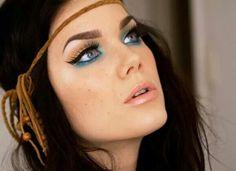 Makeup boho chic