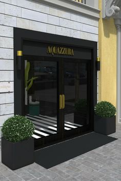 Aquazzura's flagship store in Florence, Italy
