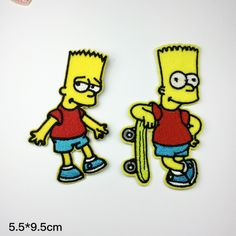 New to craftapplique on Etsy: The Simpsons patch Embroidery patches patch Embroidered patch iron on patch sew on patch 5.59.5cm  A163 (2.50 USD)