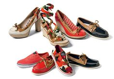 We're gushing over the new Milly for Sperry collection. I love my sperrys it's an addiction...<3