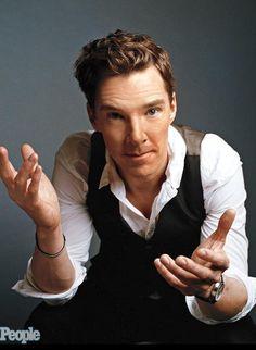 Benedict Cumberbatch, from PEOPLE MAGAZINE photo shoot (November 2014).