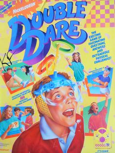 """Game Ideas for """"Double Dare"""" Challenge Games, Toys For Tots, Double Dare, Back In My Day, Childhood Days, Camping Games, Retro Toys, Family Games, Summer Activities"""
