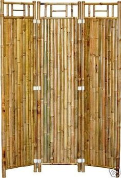 GREAT BUY! Bamboo Divider Screens-Set of 2 for only $195.00!