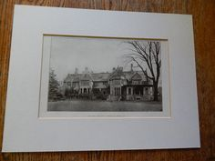Lawn Front, House of J. J. Albright, Buffalo, NY, 1906. Green & Wicks.