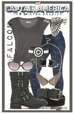 Falcon | Captain America: The Winter Soldier - MARVEL by chelsealauren10