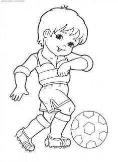 одноклассники omaľovánky sports coloring pages, free kids Football Coloring Pages, Sports Coloring Pages, Colouring Pages, Coloring Pages For Kids, Coloring Sheets, Adult Coloring, Coloring Books, Kids Coloring, Art Drawings For Kids