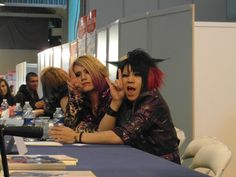 Kazuharu & Naoto from Amaranyx They were so nice !