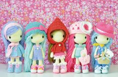 Crochet by Fozzil Fozzil on FB. Something inside me died ;A; I WANT ALL OF THEMMM AHHH!!!