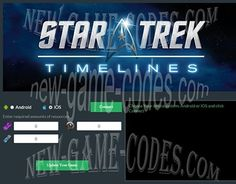 "Check out new work on my @Behance portfolio: ""Star Trek Timelines Hack Cheats Trainer"" http://be.net/gallery/34598755/Star-Trek-Timelines-Hack-Cheats-Trainer"