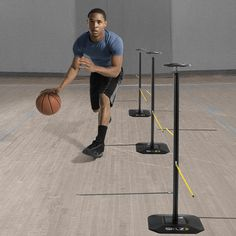 Dribble Stick at SKLZ.....I need 6 of these to assist my boys in new dribbling drills and agility skills training. Teach them to keep their heads up.