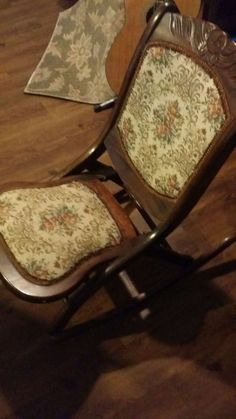Petite Antique Eastlake Rocking Chair Victorian Ladies