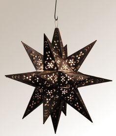 Trade Only Design :: Moravian Star Lights :: Quintana Roo, LLC :: Specializing in Wrought Iron ♥