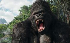 Comic-Con 'Skull Island' Film Will Explore the Origins of King Kong Beatles, Famous Movies, Good Movies, King Kong 2005, Rock And Roll, Silverback Gorilla, A New York Minute, Skull Island, Planet Of The Apes