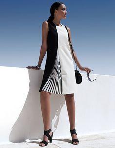 Ärmelloses Sommerkleid in modischer A-Linie | MADELEINE Mode