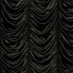 """This unique flocked wallpaper pattern features trompe l'oeil style drapery, creating an optical illusion. Finished with a low flock velvet texture and available in five colourways of red, black, brown, white and blue. Drape ROLL SIZE is 10.05m Height x 53cm (20.86"""") wide, Repeat 64cm (25.19"""") Composition: 100% Paper Use: Wallpapers Delivery time: if in stock 1 week (in Europe) (Please contact us if stock check/ stock cuttings are required or express shipping is needed.)"""