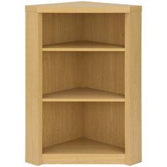 Ancona Bookcase in Oak | Bookcases & Cabinets | ASDA direct