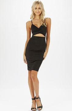 Santos Dress - Black