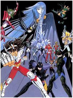 Anime Nekketsu Plus: Los Caballeros del Zodiaco: los caballeros de bronce de Athena