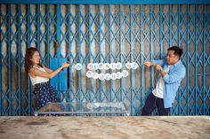 Pre-Wedding; engagement photography; fun couple; lifestyle poses