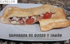 Empanada de Queso y Jamón serrano #receta - Carolus Cocina