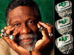 Bill Russell 11 Rings | Bill Russell Has 11 Rings with the Boston Celtics, Most All-Time ...